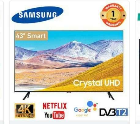 Samsung 43 inch (Tu8000u) crystal UHD smart frameless