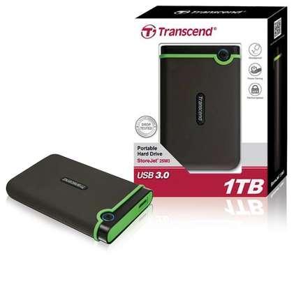 Transcend Storejet External Harddisk image 1