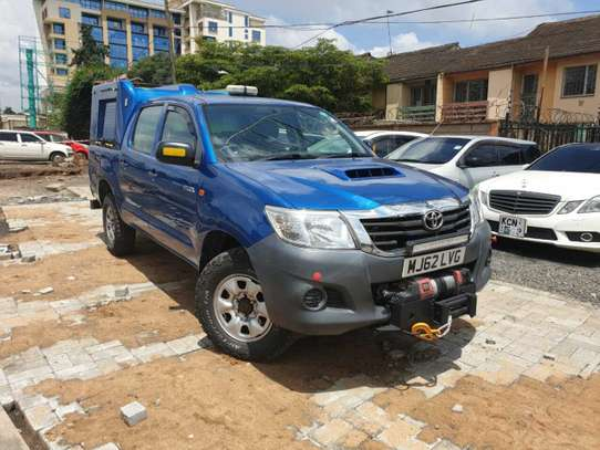 Toyota Hilux 3.0 D-4D Single cab