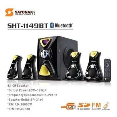 Sayona SHT-1149BT - 4.1 Channel Subwoofer image 1