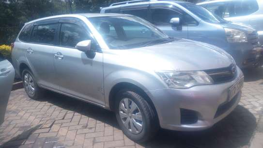 Toyota Fielder New Shape for Hire