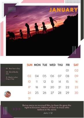 Bible Desk Calendars image 3