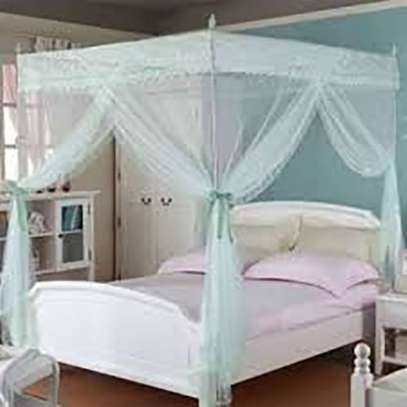 Mosquito Net Bed Canopy Netting Curtain Dome Fly Insect Stopping image 1