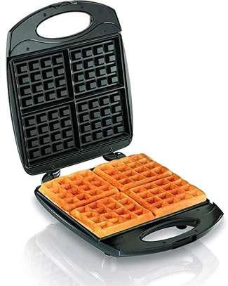 4 Pcs Non Stick Waffle Maker