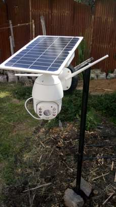 HD Solar PTZ Camera image 2
