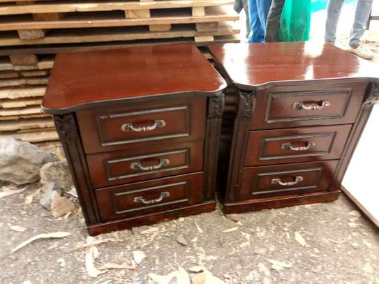 Full Set Bed + Side Drawers image 5