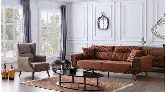 Three seater sofa/Latest livingroom sofa sets for sale in Nairobi Kenya image 1