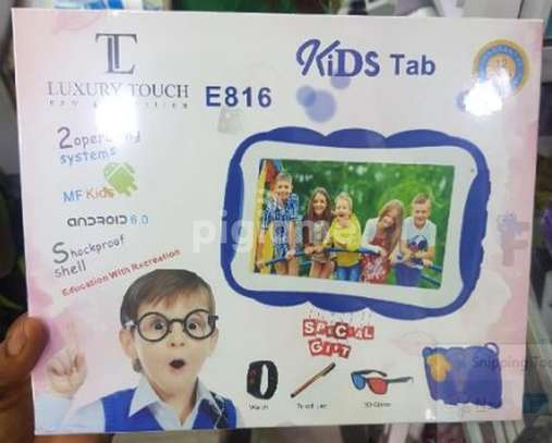 LUXURY TOUCH E816 Kids tablet now available image 1