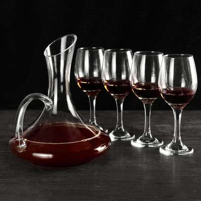 Full set Wine Decanter plus 6 wine glass