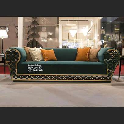 Three seater sofa/modern sofas image 1