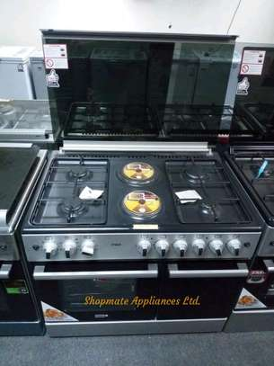 Mika 6 burner Cooker with Cylinder Compartment
