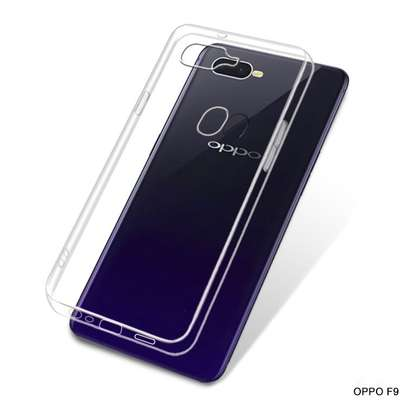 Clear TPU Soft Transparent case for Oppo F9 F9 Pro image 3