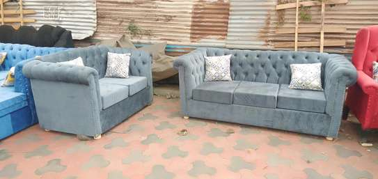 Ready 5-Seater Chesterfield Sofa image 2