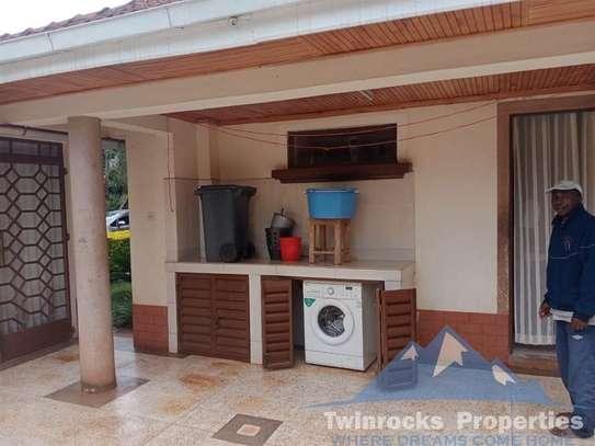 Furnished 3 bedroom house for rent in Karen image 14