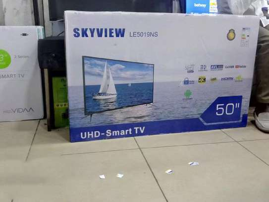 Skyview Android 4K Smart Tv 50 Inches image 1