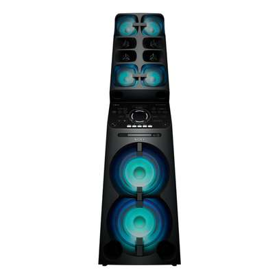 Sony MHC-V90DW High Power Home Audio System With party Lights -Black image 1