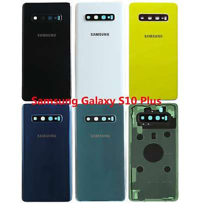 Battery Cover Replacement Back Door Housing Case For Samsung Galaxy S10 Plus S10e S10 image 5