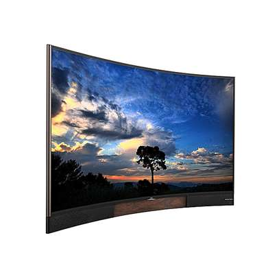 TCL 55 Inch Smart Curved 4k Tv