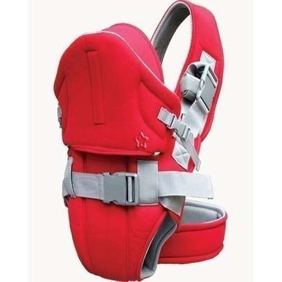 Baby Carrier With a Hood - red image 1