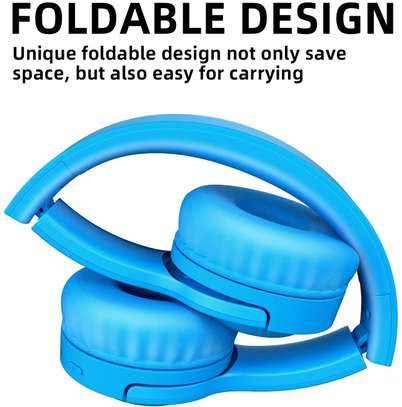 Picun E3 Bluetooth Headphone for Kids (Blue) image 3