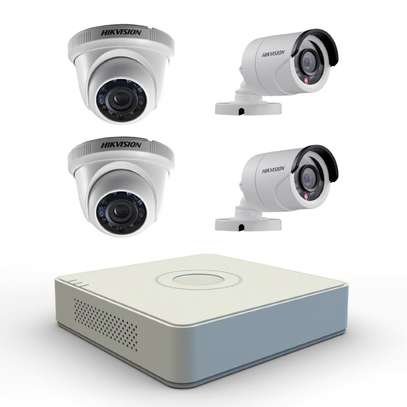 4 CCTV CAMERA FULL PACKAGE 1.3 MP(720p) With Night Vision image 3