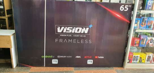 Vision 65'' Smart Android 4k ultra HD TV image 1