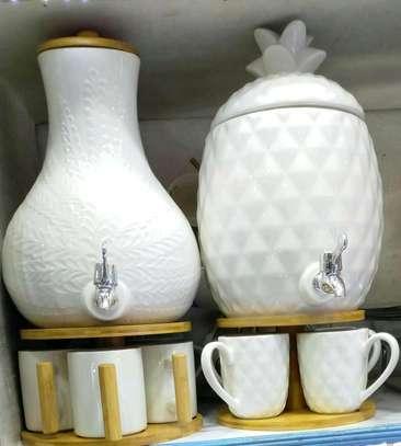Tea set/Ceramic tea set/Tea dispenser image 1