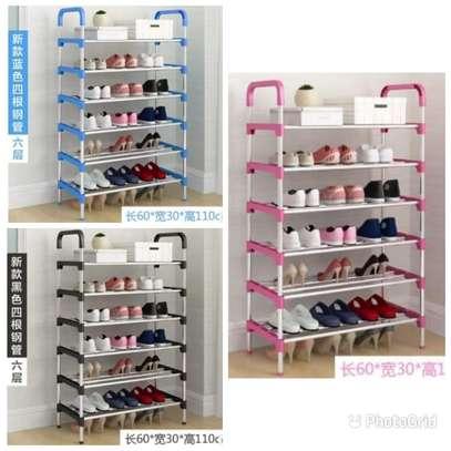 Multi layer shoe rack image 1