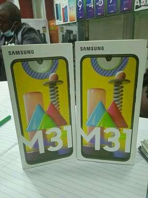 Samsung M31 new 128gb 6gb 6000mAh+Delivery image 1