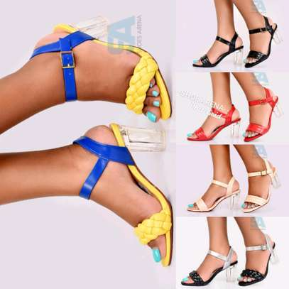 Catchy Chunky heels image 1