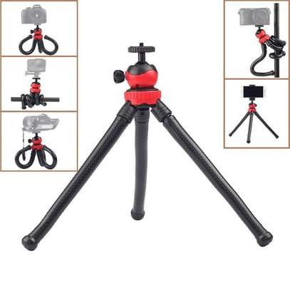 flexible tripod for small cameras and smartphones -Red