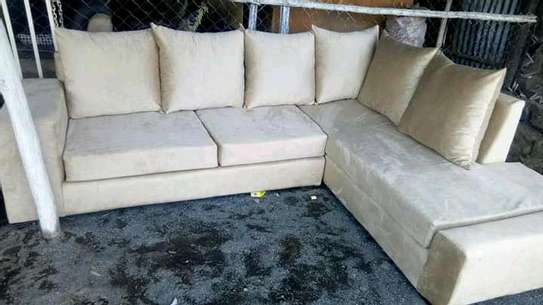 Sofa set made by hand wood and good quality material image 1