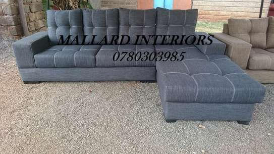 Grey Chesterfield 5 Seater
