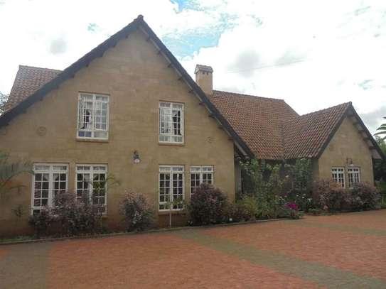 Furnished 3 bedroom villa for rent in Runda image 1