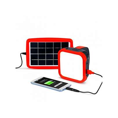 Dlight S500 USA Solar Powered Rechargeable LED Light with Power Bank image 1