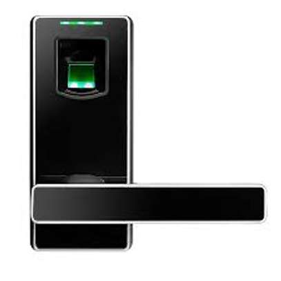 Zkteco zk ML10-ID Fingerprint + RFID card Door Lock image 1