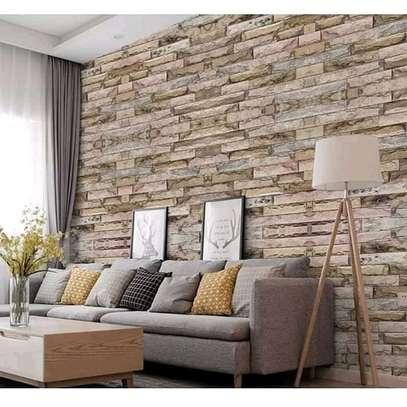 Bright surface self adhesive wallpaper image 4