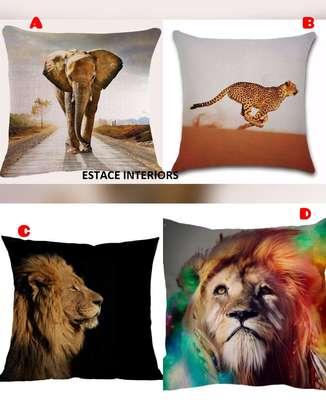 African throw pillow cases/Nairobi image 5
