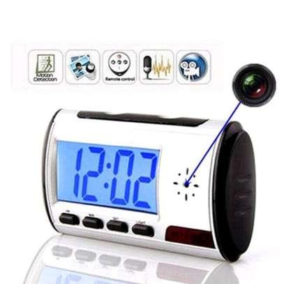 Clock camera image 1