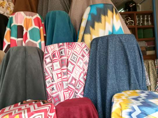 Beautiful Colorful Quality Turkish Cotton Sofa Fabric image 1