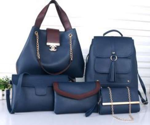5 in 1 Durable good looking ladies handbags