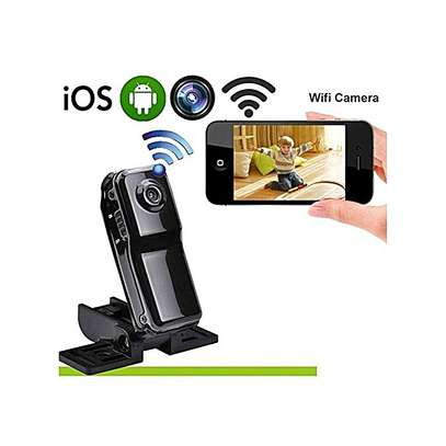 World Smallest HD Nanny Camera With Live Stream Over Web And Smart Phones -Black image 1