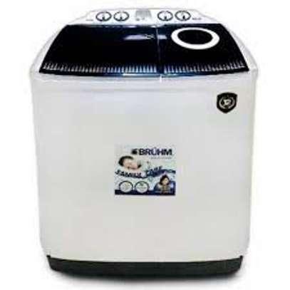 Bruhm BWT-070H, Twin Tub Washing Machine - 7kg image 1