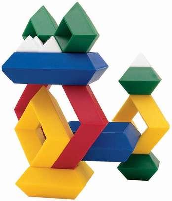 Junior Set 15 Pc Building Block Set Educational Toy image 1