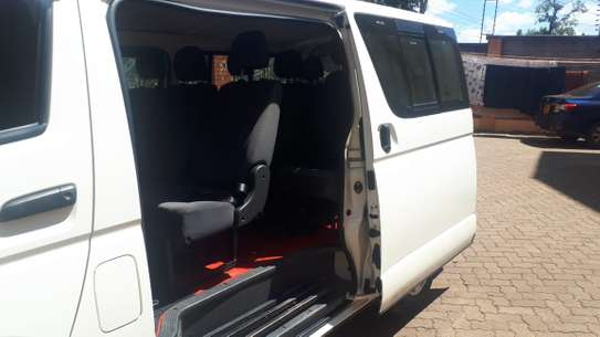 EXECUTIVE  4X4  VAN FOR HIRE image 4
