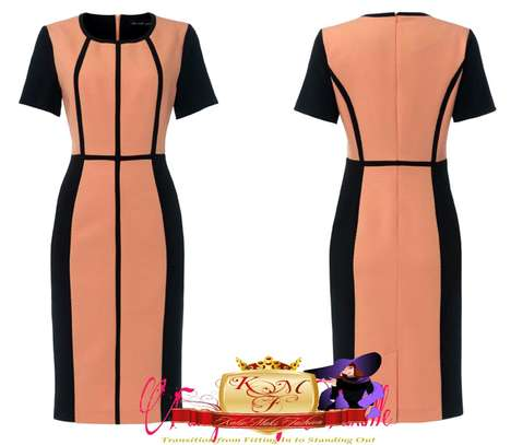 Official Contrast Stripped Dress image 2