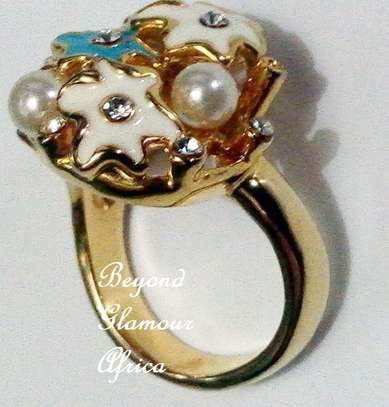 Women statement ring wedding bridal jewelry ring image 1