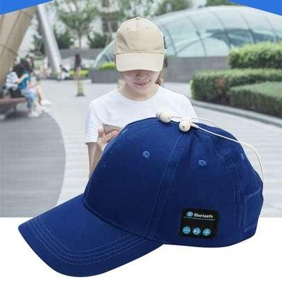 New High-Tech Wireless Sport Bluetooth Music Hat Cap Speaker image 1