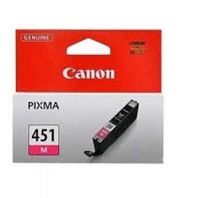 Canon CLI-451 Magenta Ink Cartridge image 1