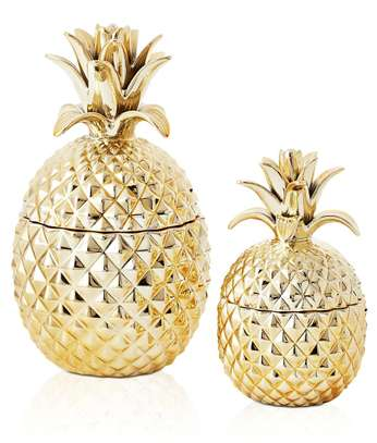 Pineapple cannister. image 1
